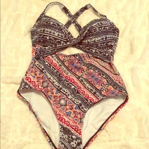 6667d1e761f Swimsuits For All Swim | Wolmer Cutout Underwire Suit | Poshmark